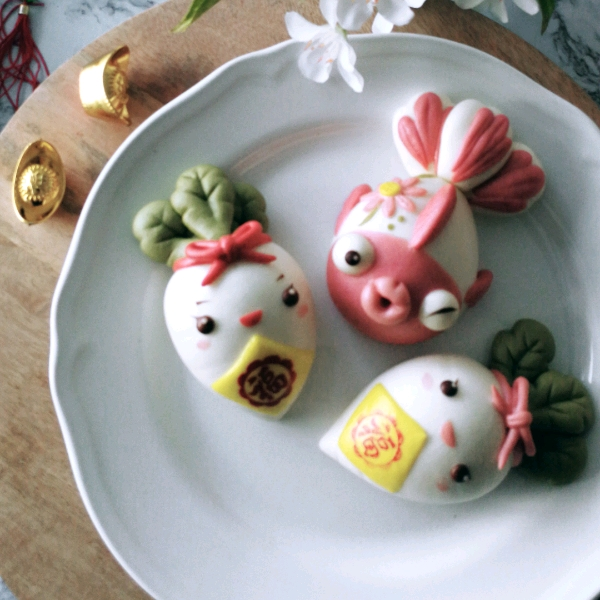 CNY Theme Steamed Buns Workshop0
