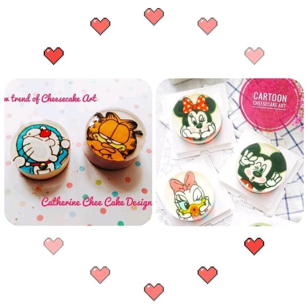Cartoon Cheese Art Cake Workshop0