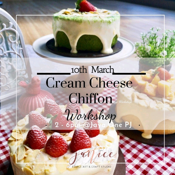 10 Mar_Cream Cheese Chiffon Hands On Workshop