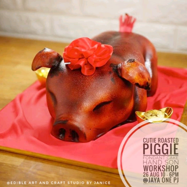Cutie Roasted Baby Piggie Hands On Workshop (26 Aug)0