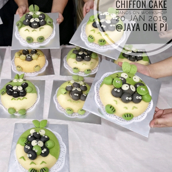 Totoro Chiffon Cake Handson  Workshop ( 20 Jan)0