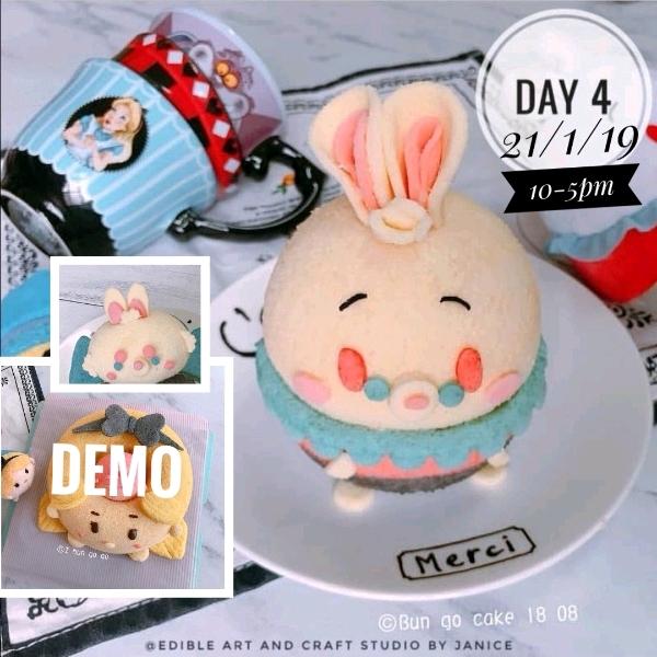 Day 4_ 3D Mr Rabbit Chiffon Cake ( Balance)0