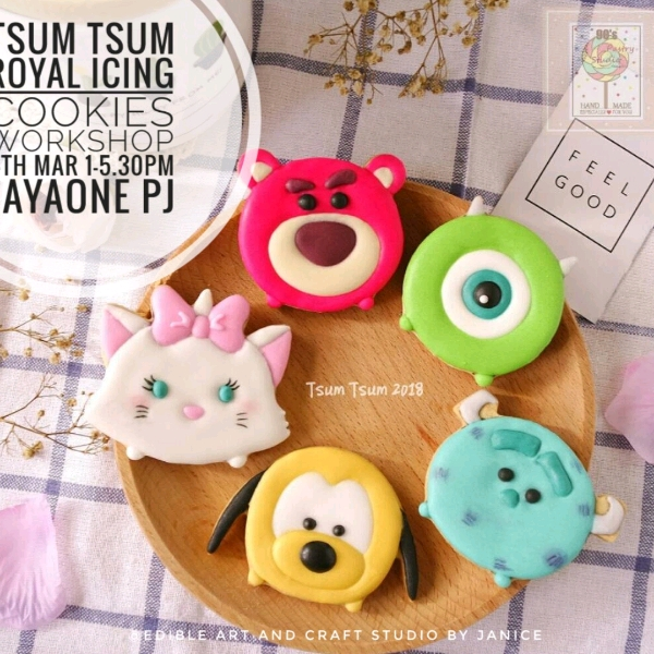 Disney Tsum Tsum Designer Cake0