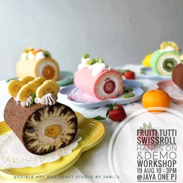 Fruitti Tutti Hands On Swissroll Workshop (19 AUG)0