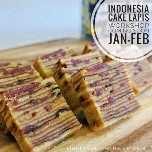 Indonesia Cake Lapis Workshop0