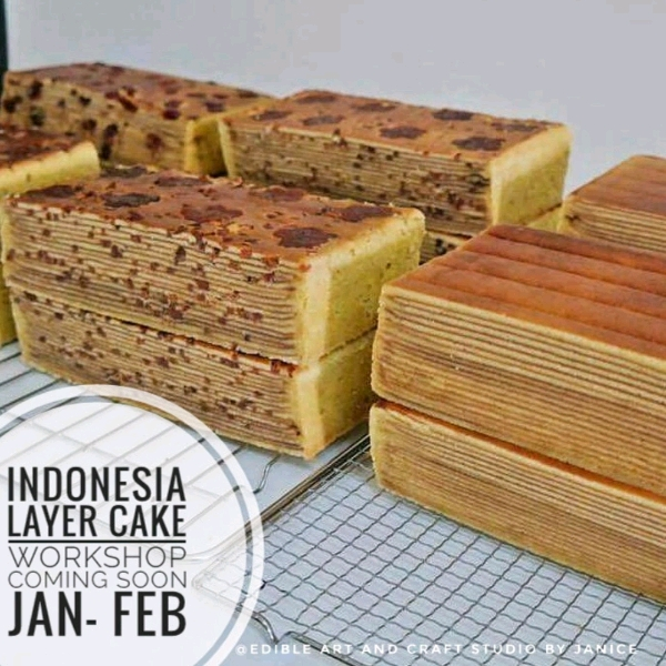 Indonesia Cake Lapis Workshop1