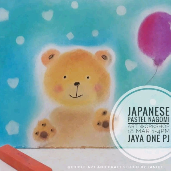 Japan Pastel Nagomi Art Workshop0