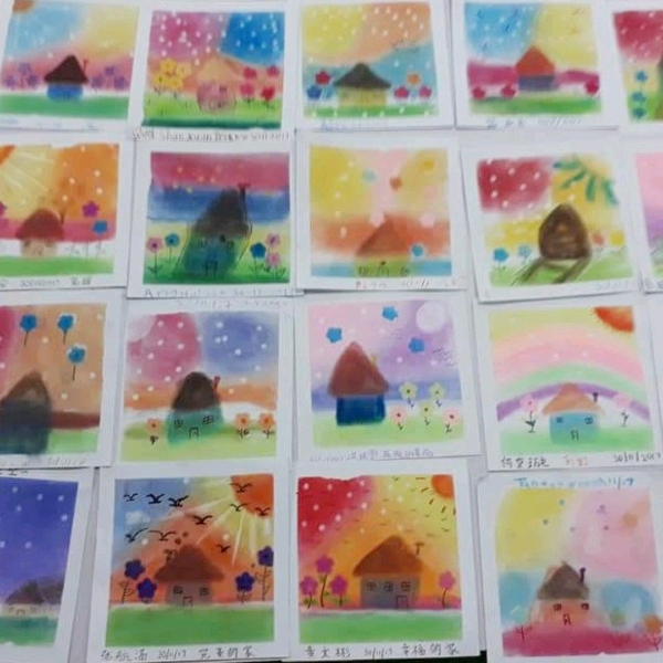 Japan Pastel Nagomi Art Workshop1