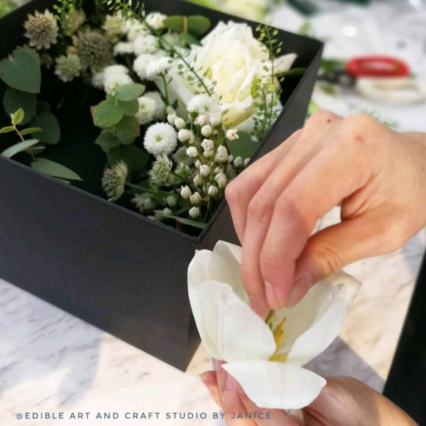 Korean Style Flower Arrangement Workshop1