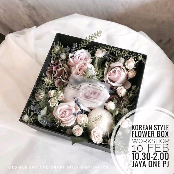 Korean Style Flower Box Workshop0