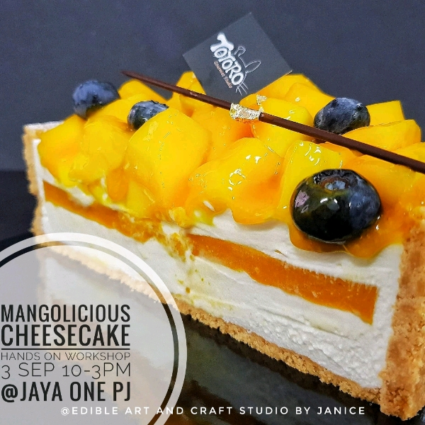 1_Sep Mangolicious Cheese Cake Hands On Workshop0