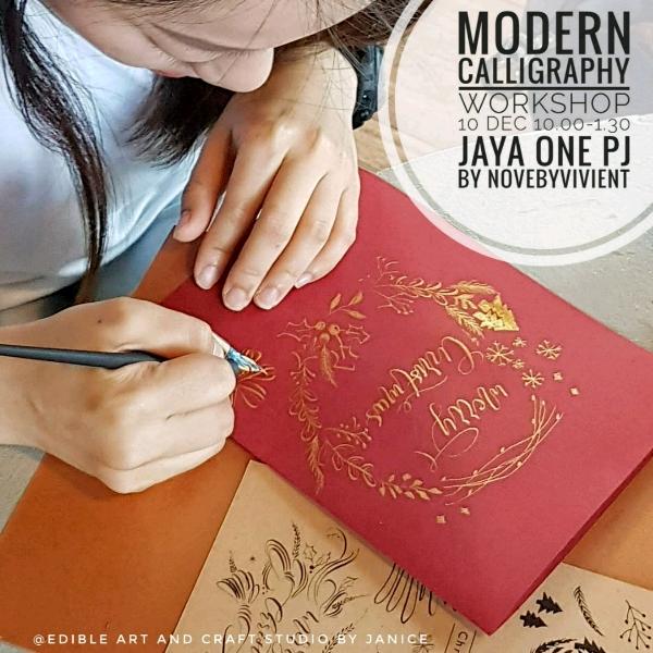 Modern Calligraphy Wokrshop0