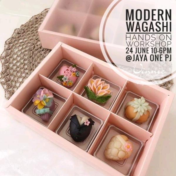 Modern Wagashi Hands On Workshop0