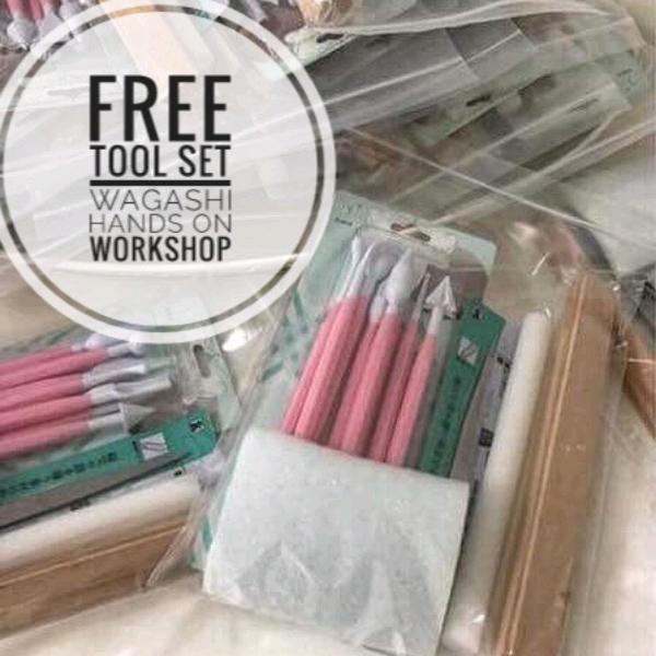 Modern Wagashi Hands On Workshop1
