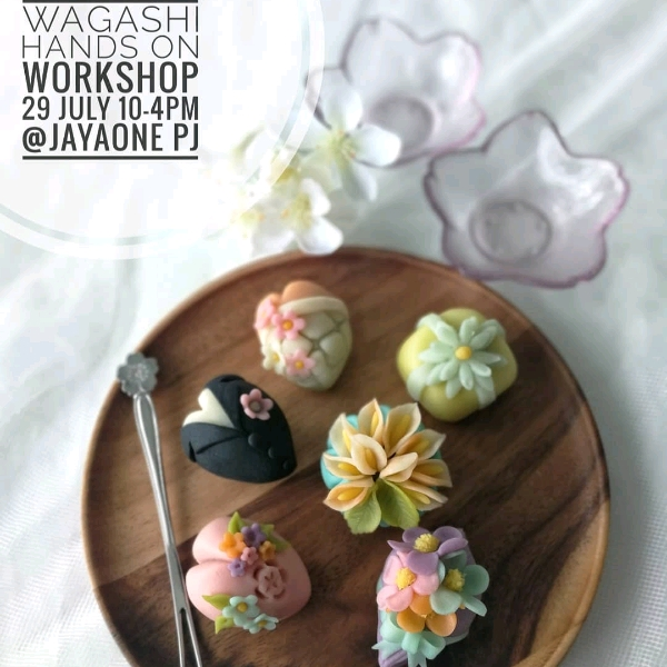Modern Wagashi Hands On Workshop (29 July)0