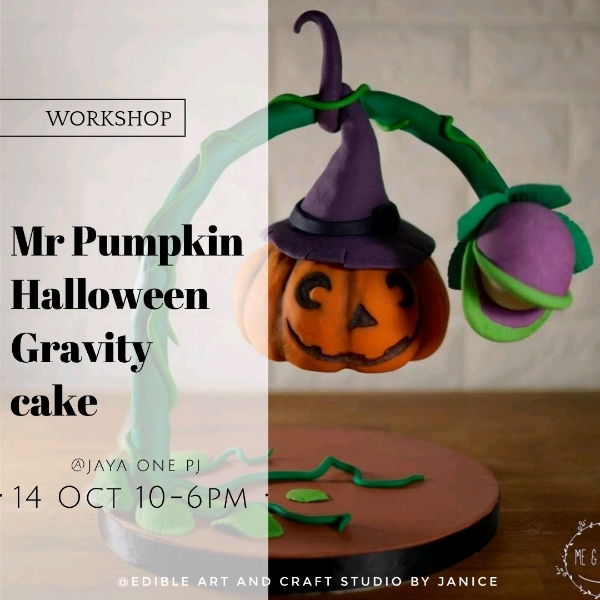 14 Oct_ Mr Pumpkin's Halloween Gravity cake Workshop0