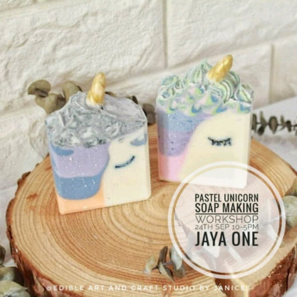 Pastel Unicorn Soap making Workshop0
