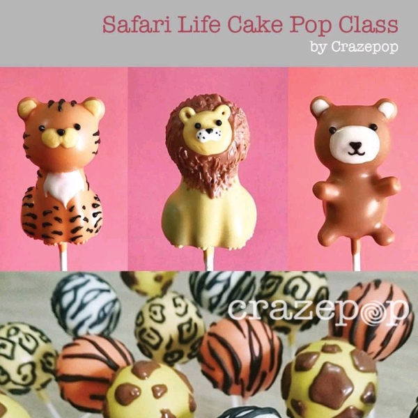 Safari Life Cake Pop Hands On Workshop0