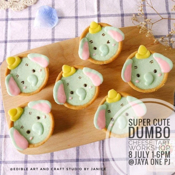 Super Cute Dumbo Cheese Tart Workshop0