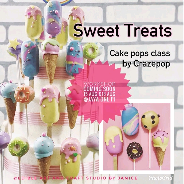Sweet Treats Cakepop Hands On Workshop (15 Aug)0