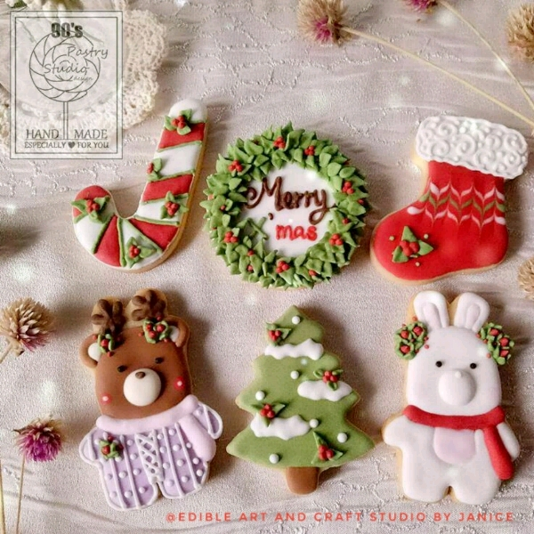 Xmas Royal Icing Cookies Hands On Workshop0