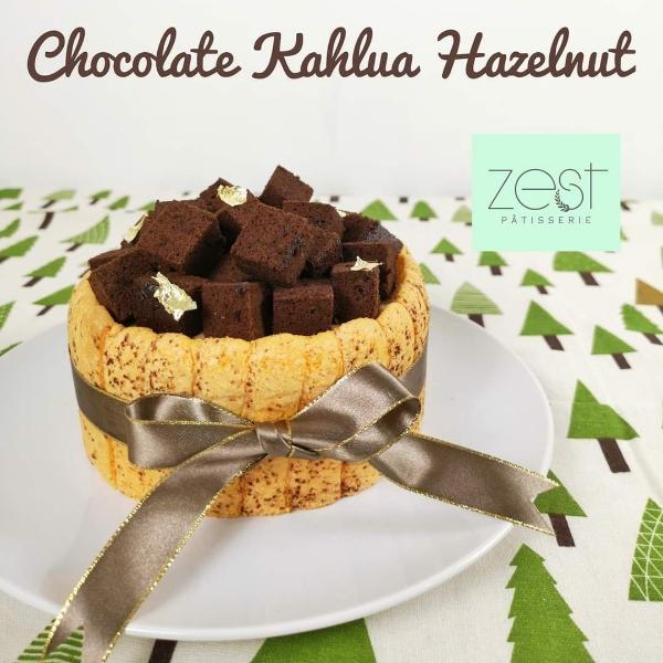 Chocolate Hazelnut Kahlua Online Class -by Chef YiXiang