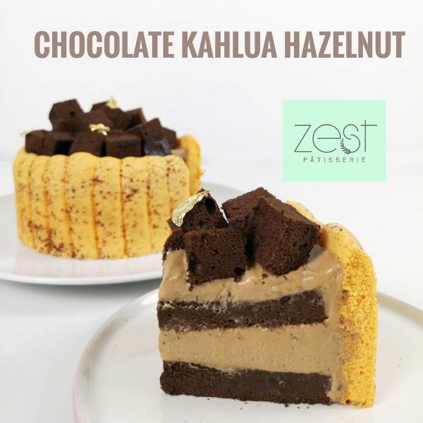Chocolate Hazelnut Kahlua Online Class -by Chef YiXiang1