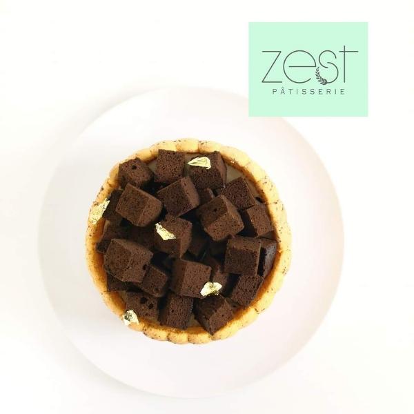 Chocolate Hazelnut Kahlua Online Class -by Chef YiXiang2