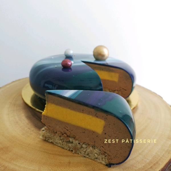 Earl Grey Mango Entremet Workshop1