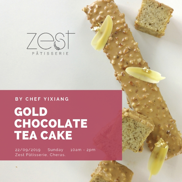 Gold Chocolate Tea Cake