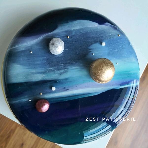 Mirror Glaze Entremet1