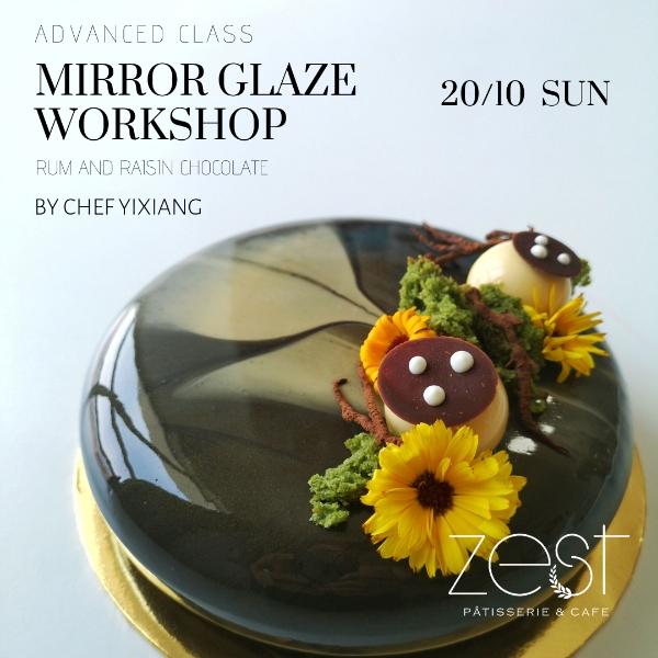 Mirror Glaze Workshop0