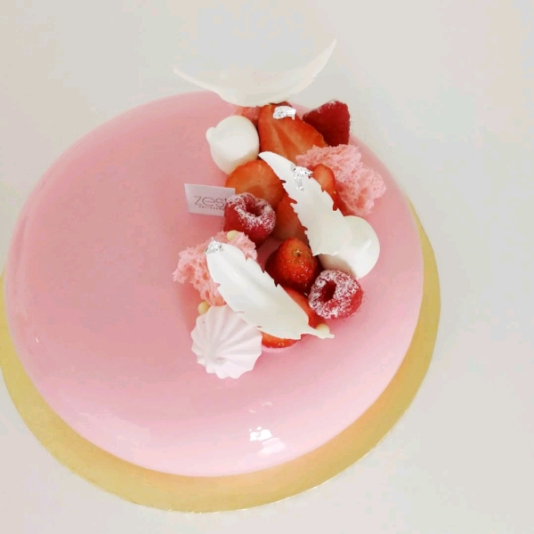 Rose Lychee Raspberry Entremet Workshop1
