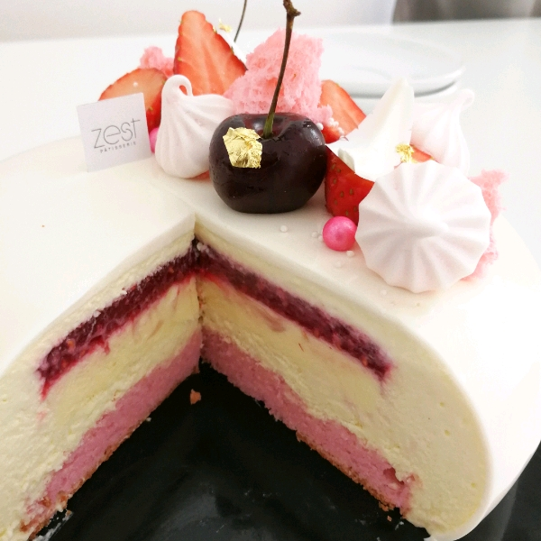 Rose Lychee Raspberry Entremet Workshop2