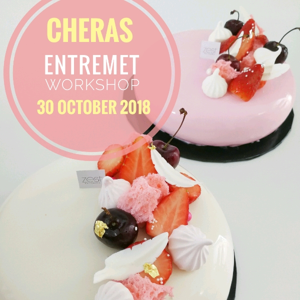 Rose Lychee Raspberry Entremet Workshop3