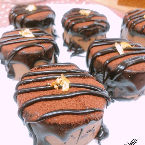 謝岳恩-香蕉巧克力蛋糕+黑糖蛋糕3