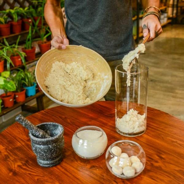 婆罗洲酒饼和米酒酿造坊