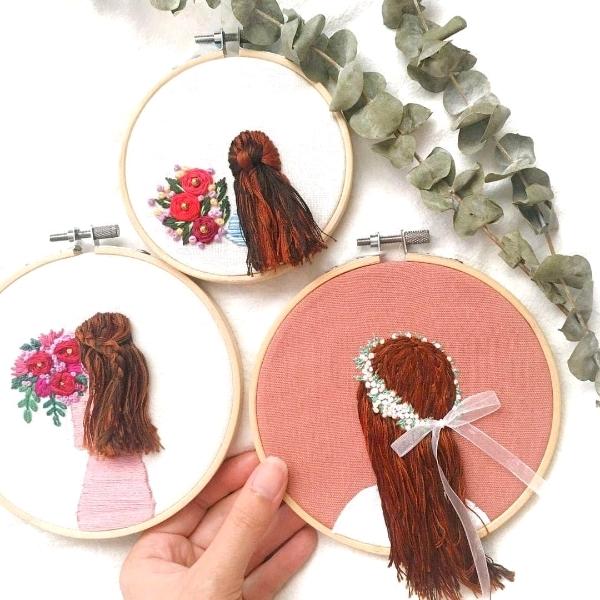 长发女孩刺绣工坊1