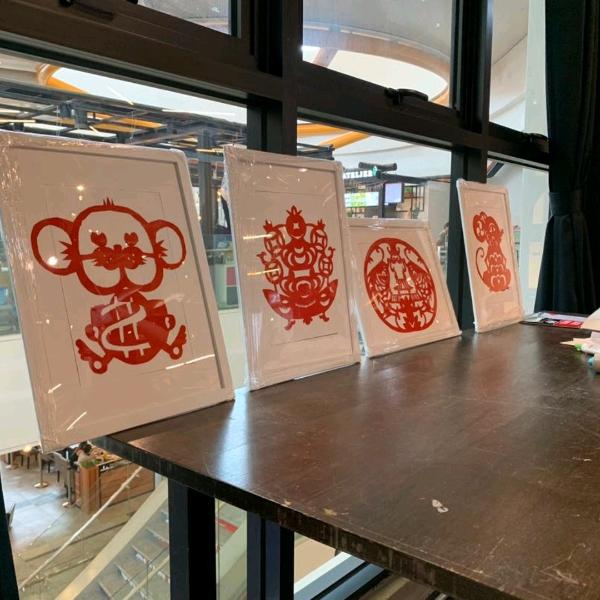 窗花剪纸艺术工作坊3