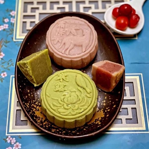 红酒蔓越莓+抹茶冰皮线上课-by Chef Elaine Teh0