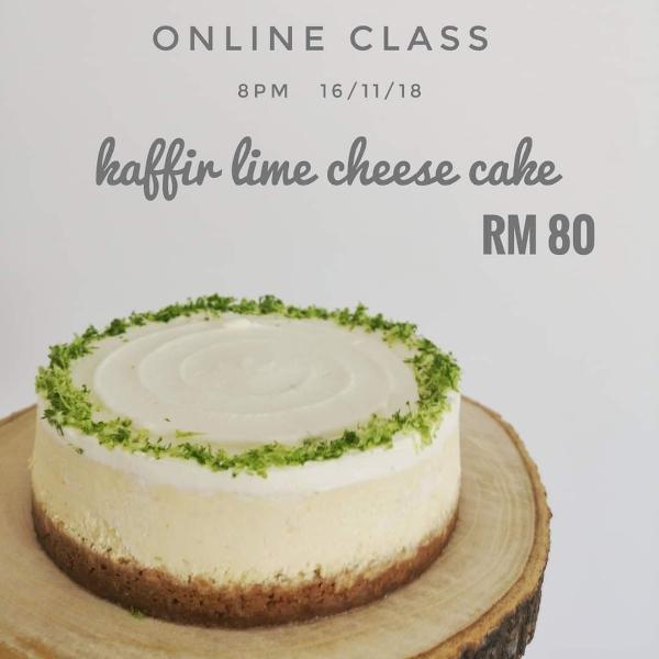 卡菲尔柠檬乳酪蛋糕 -by Chef YiXiang0