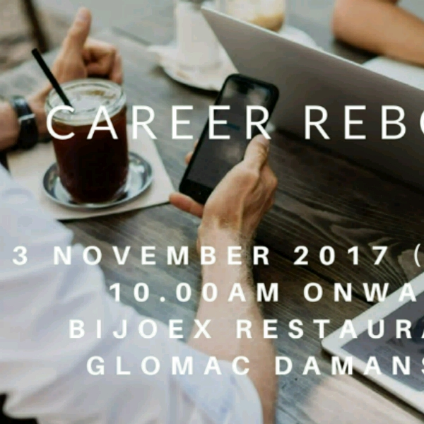 Career Reboot (Afternoon Session)