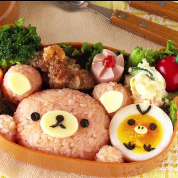 Rilakuma Bento Sushi Set