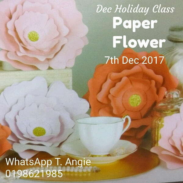 Paper Flower Holiday Class0