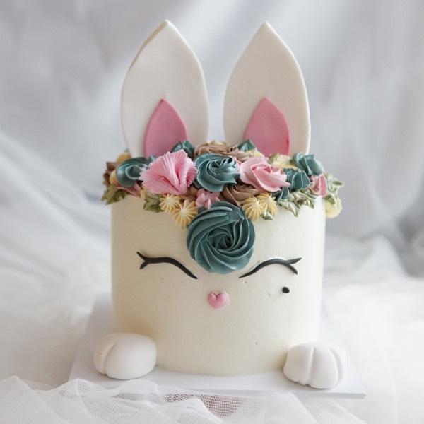 12/09 Bunny Earl grey cake0