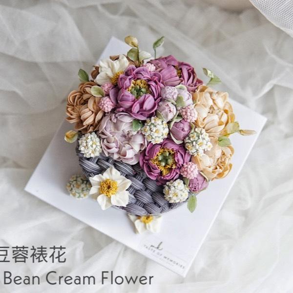 15/10 Realistic Bean Cream Flower 0