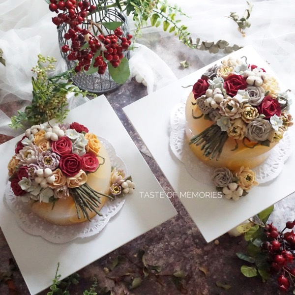 21/7 Korean Winter Rice Cake With Bean Paste Flower Course (PENANG)0