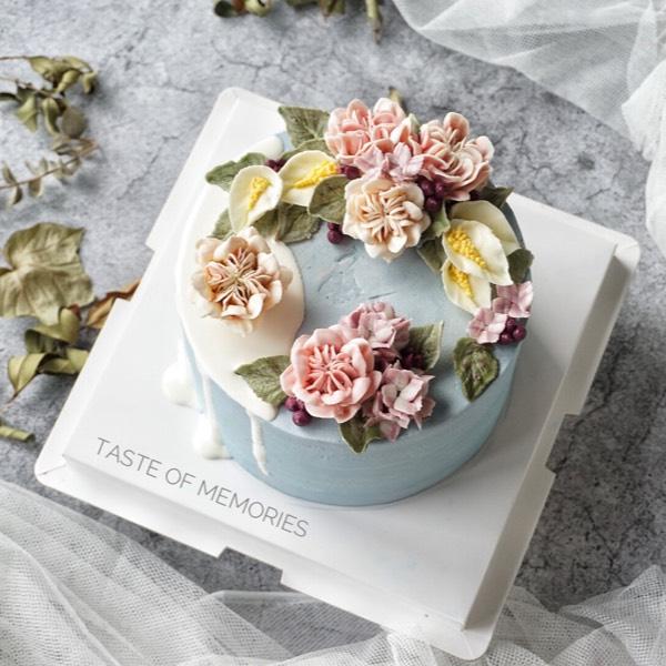 25/8 Buttercream Bouquet &1/9 chocolate Cream Flower (pj)0