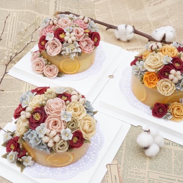 7/01 Korean Winter Rice Cake With Bean Paste Flower (Cheras)0