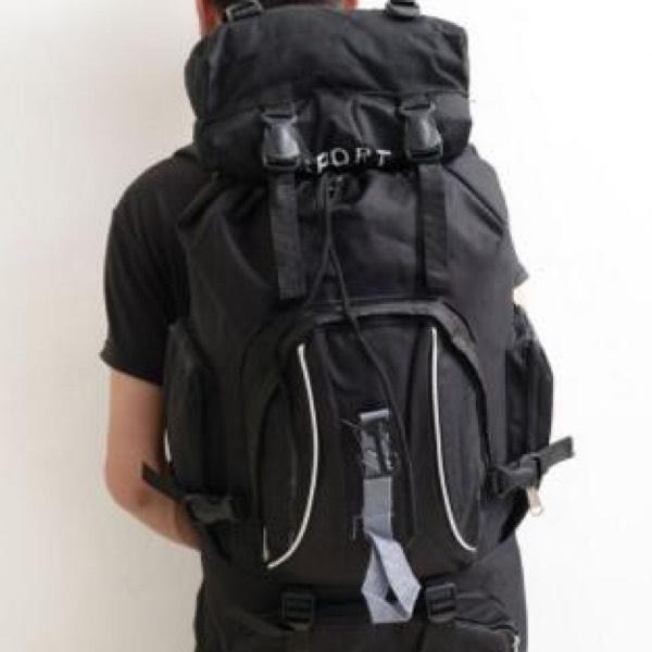 Beg Besar Backpack Kembara (M1) - Black0